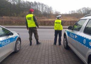 Policjanci iŻandarmeria wspólne działania